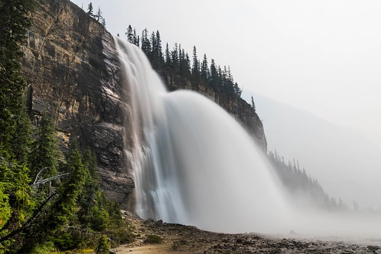 Mount Robson, Canada: Emperor Falls