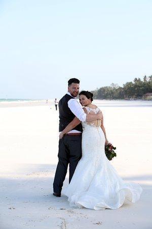 Beautiful backdrop to a wedding