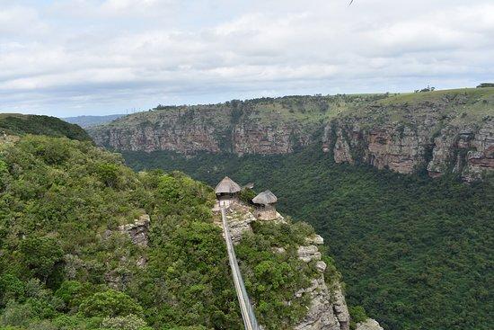 Lake Eland Game Reserve, Republika Południowej Afryki: Ponte sospeso