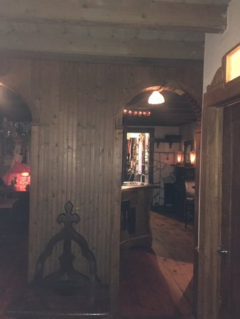 The Log House 1776 Restaurant: A view from the bar