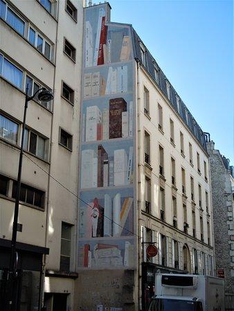 Fresque Bibliothèque de l'Impossible