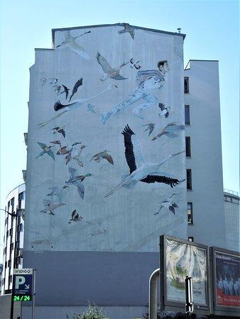 Fresque Chronopost