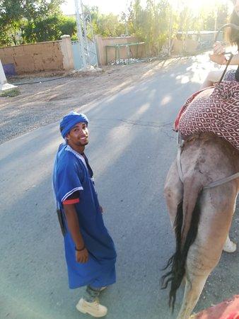 Palmeraie, Marokko: Le sourire de Khalifa