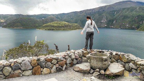 Laguna Cuicocha照片