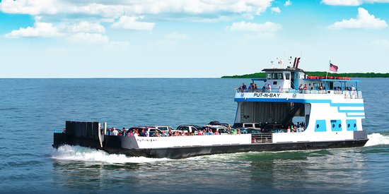 Put in Bay, OH: Miller Ferry Passenger/Vehicle trips to Put-in-Bay & Middle Bass Island