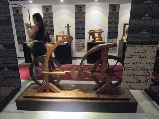 Bicicletta Picture Of Museo Leonardo Da Vinci Experience Rome