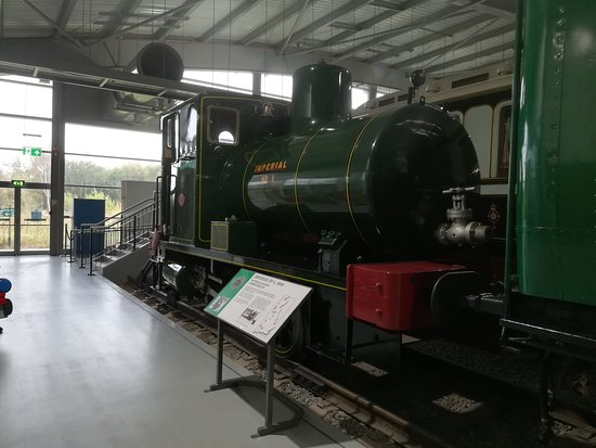 Shildon, UK: Small, fireless shunting engine
