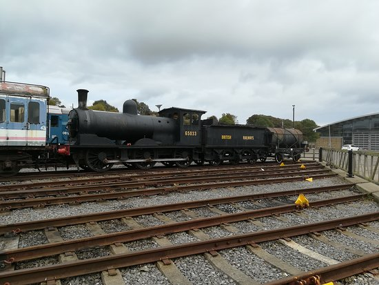 Shildon, UK: Items awaiting restoration