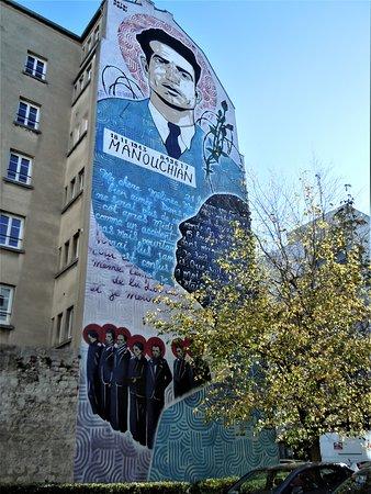 Fresque Manouchian
