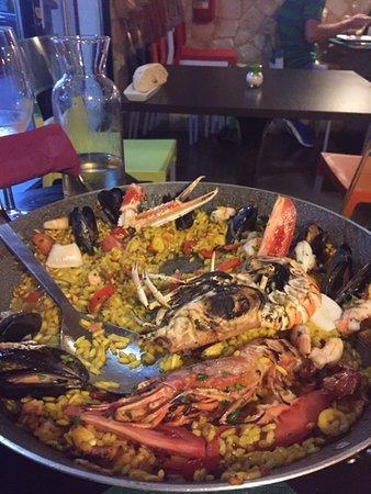 Vallecrosia, إيطاليا: paella