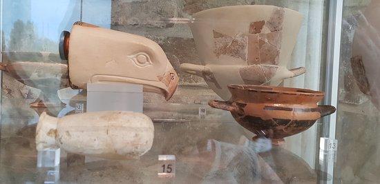 Vetulonia, Italie : autres objets