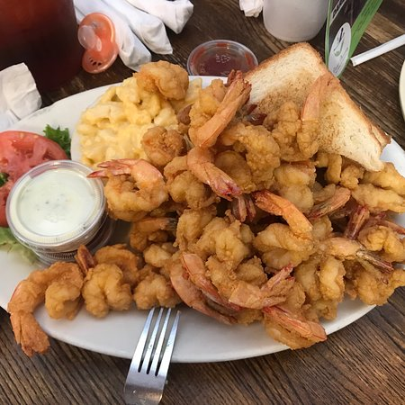 B & J's Steaks and Seafood: Generous portion of shrimp