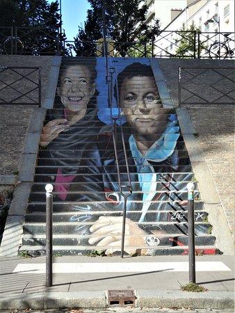 Fresque Véronique et Michel Colucci