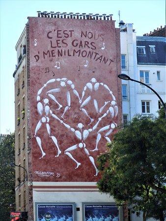 Fresque Ménilmontant