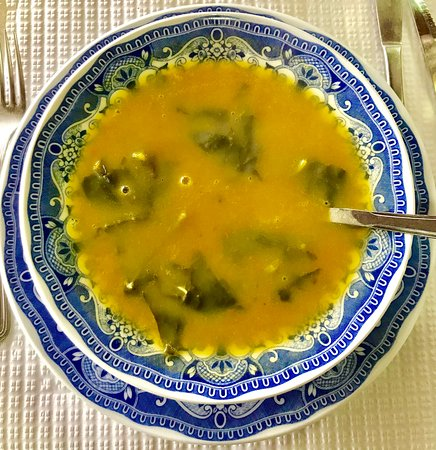 Alqueva, Portugal: Delicious soup of the day