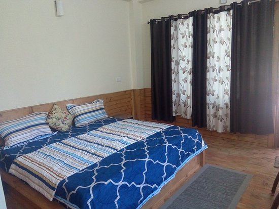 Jibhi, Индия: Deluxe room with 1double bed