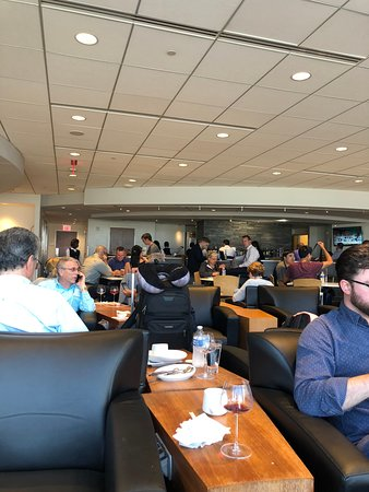 The Club at ATL: inside the lounge