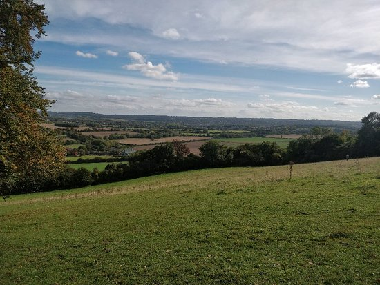Otford, UK: Less than an hour from SE London, the beautiful Kent countryside has some lovely walks