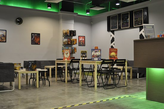 Petaling Jaya, Malasia: The board game lounge @CodeFactoryMY