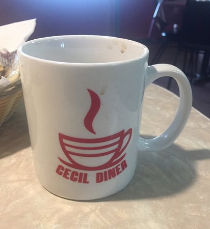 Cecil, WI: great coffee