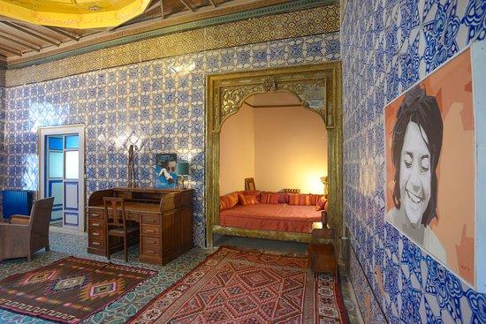 La chambre bleue alcôve et bureau ph s jabeur picture of la