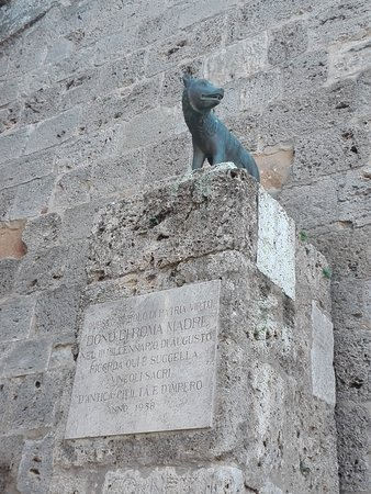 Chiusi, Itália: La lupa