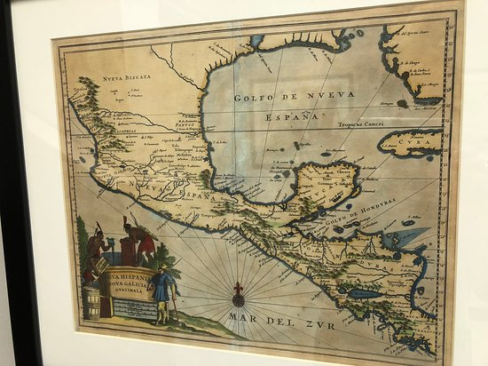 Map Of Texas Mexico.Historical Map Of Mexico Texas Picture Of Museum Of The Big Bend