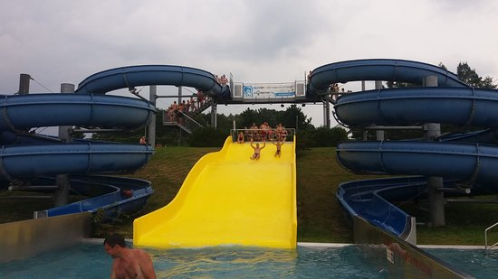 Frydek-Mistek, Tschechien: zjeżdzalie w Aquaparku Olesna