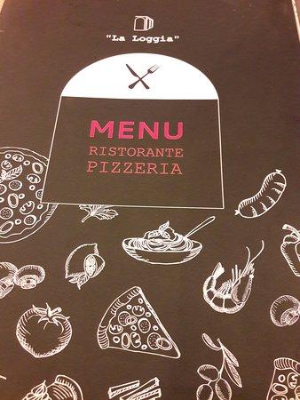 Ristorante Pizzeria La Loggia: Menù