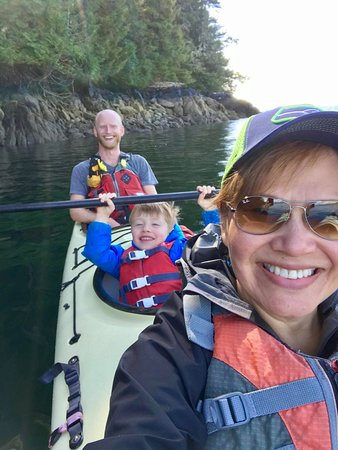 Ketchikan, AK: Kayak fun for the whole family!