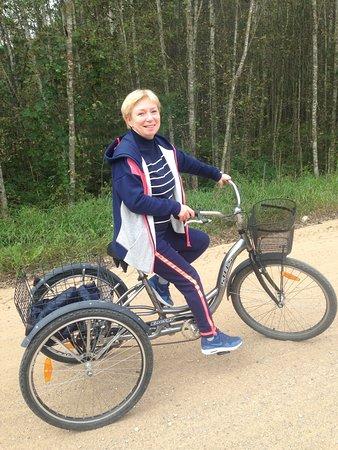 Altun, Ρωσία: трёхколёсный велосипед - супер идея!