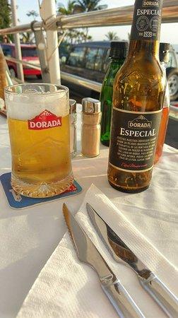 La Gran Paella Valenciana: Dorada! A must in hot day! :)