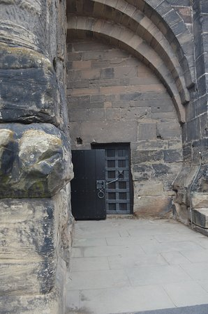Entrance For Video Viewing And Before The Climb Up Picture Of