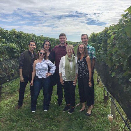 New Vine Wine Tours: Fun times at Raphael and Pugliese vineyards!