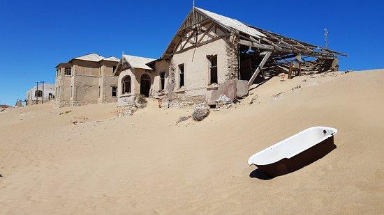 مدينة أشباح كولمانسكوب: Oldest house in Kolmanskop