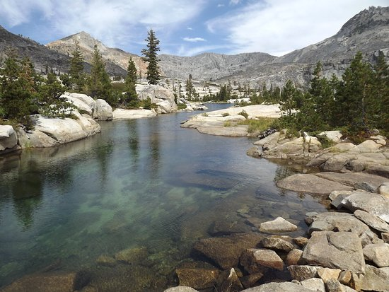 Kyburz, CA: arm of Lower Twin Lake