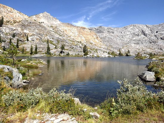 Kyburz, Kalifornien: Island Lake