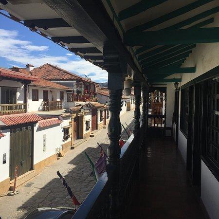 Hotel Antonio Narino: Vista desde nuestra habitación