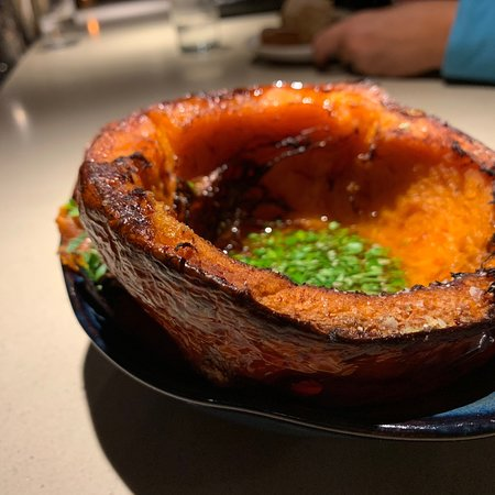 Kismet: I don't even like squash but this kind of blew me away. And the orange zest on top of the homema