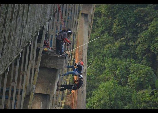 Ciamis, Indonesia: Repling sport
