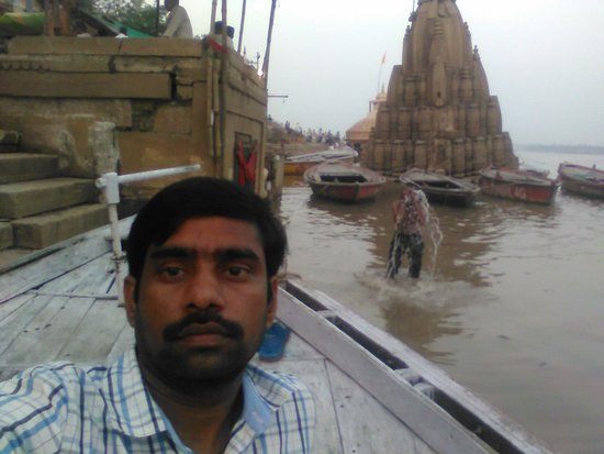 Boat travel in Varanasi - awesome experience. One should not miss it.