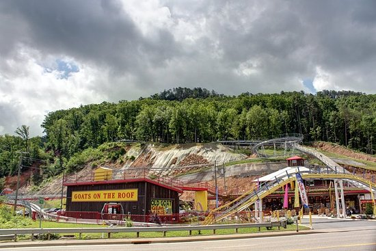Pigeon Forge: The Coaster at Goats on...