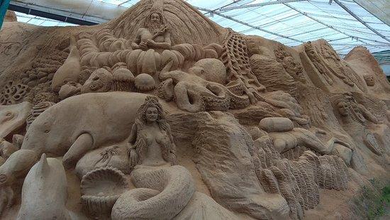 Mysore Sand Sculpture Museum Photo