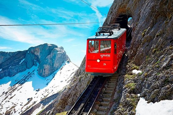 Silver Round Trip to Mt Pilatus from...