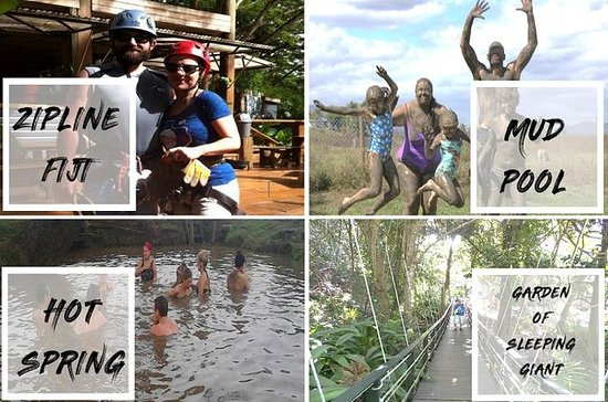 Adventure Tour - Zipline, Mud Pool, Hot Springs & Garden Of The...