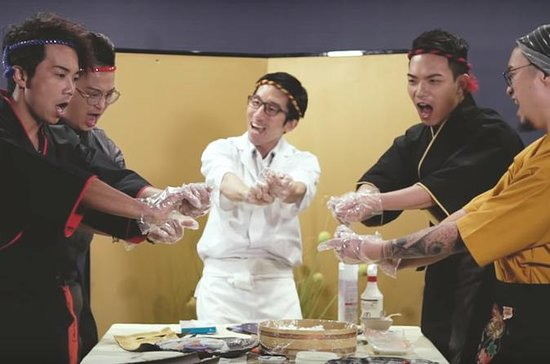 寿司を作る方法を学ぶ! - 奈良スクール