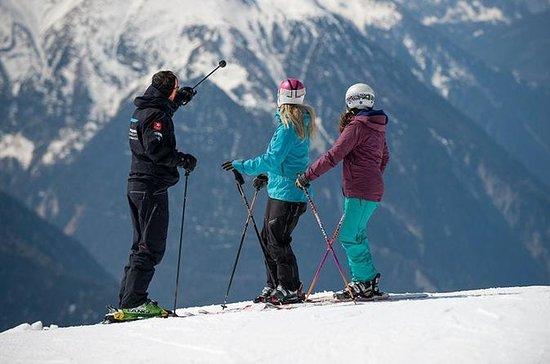 3 hour Private Ski Lesson