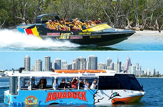 Paradise Jet Boating and Aquaduck...