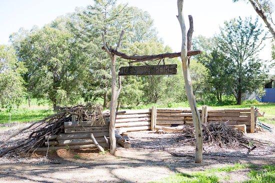 Cobram, Australien: Campfire area