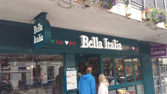 Bella Italia Inverness: Shop front